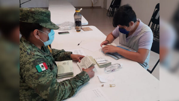 Invita gobierno de Puerto Morelos a jóvenes clase 2003 a tramitar cartilla militar