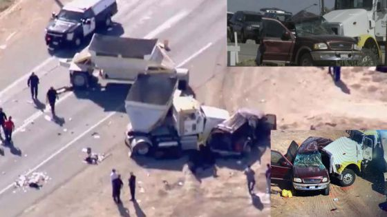 Mueren 15 personas tras choque en California, 10 eran mexicanos
