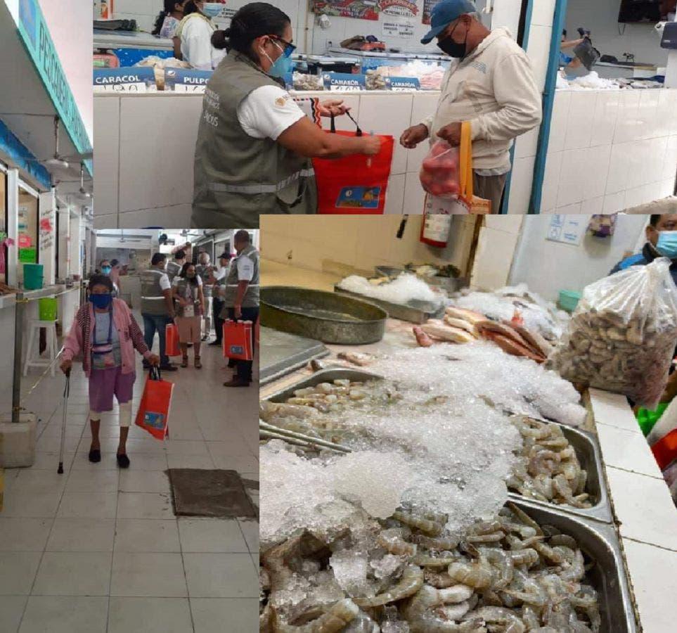 Suspenden cuatro negocios de venta de pescados y mariscos