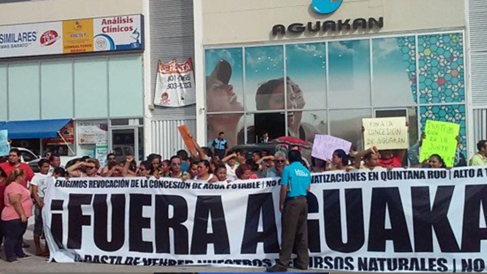 Luz verde a consulta contra Aguakan en 4 municipios.