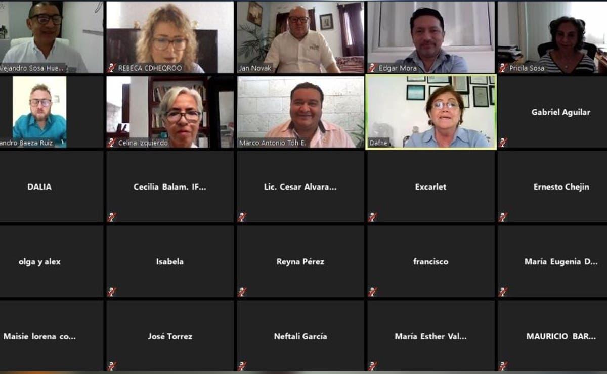 Firman convenio de colaboración CDHEQROO y la Unicaribe