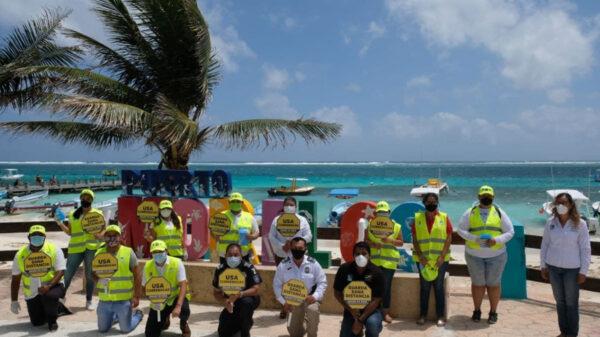 Gobierno de Puerto Morelos trabaja en equipo para hacer frente a pandemia de covid-19