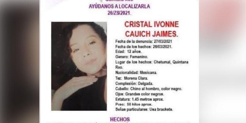 Cierra marzo con más de 20 mujeres desaparecidas en Quintana Roo.