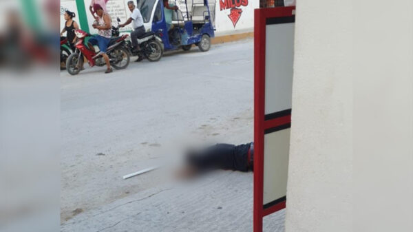 Cancún: Ejecutan a hombre en delegación Alfredo V. Bonfil