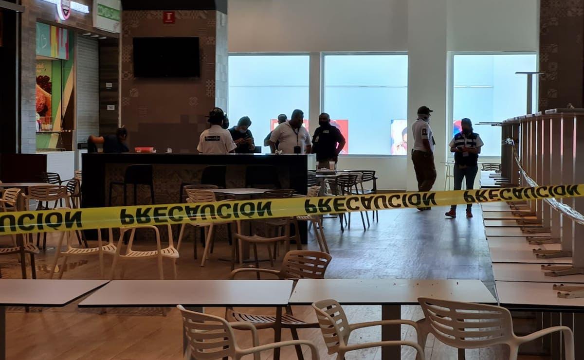 Explota restaurante en Plaza Malecón Américas de Cancún