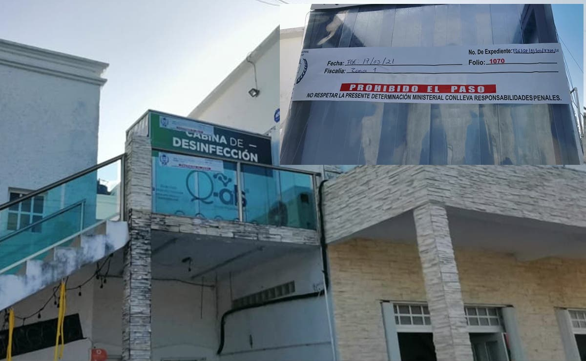 Asegura FGE laboratorio donde aplicaron pruebas covid a turistas argentinos