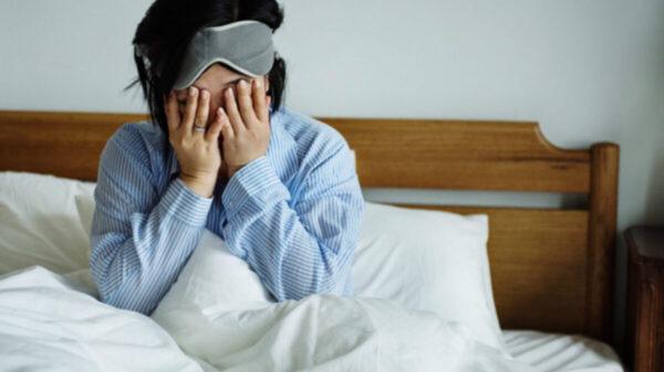 ¡Cuidado! Insomnio y agostamiento físico, factores de riesgo contra Covid-19
