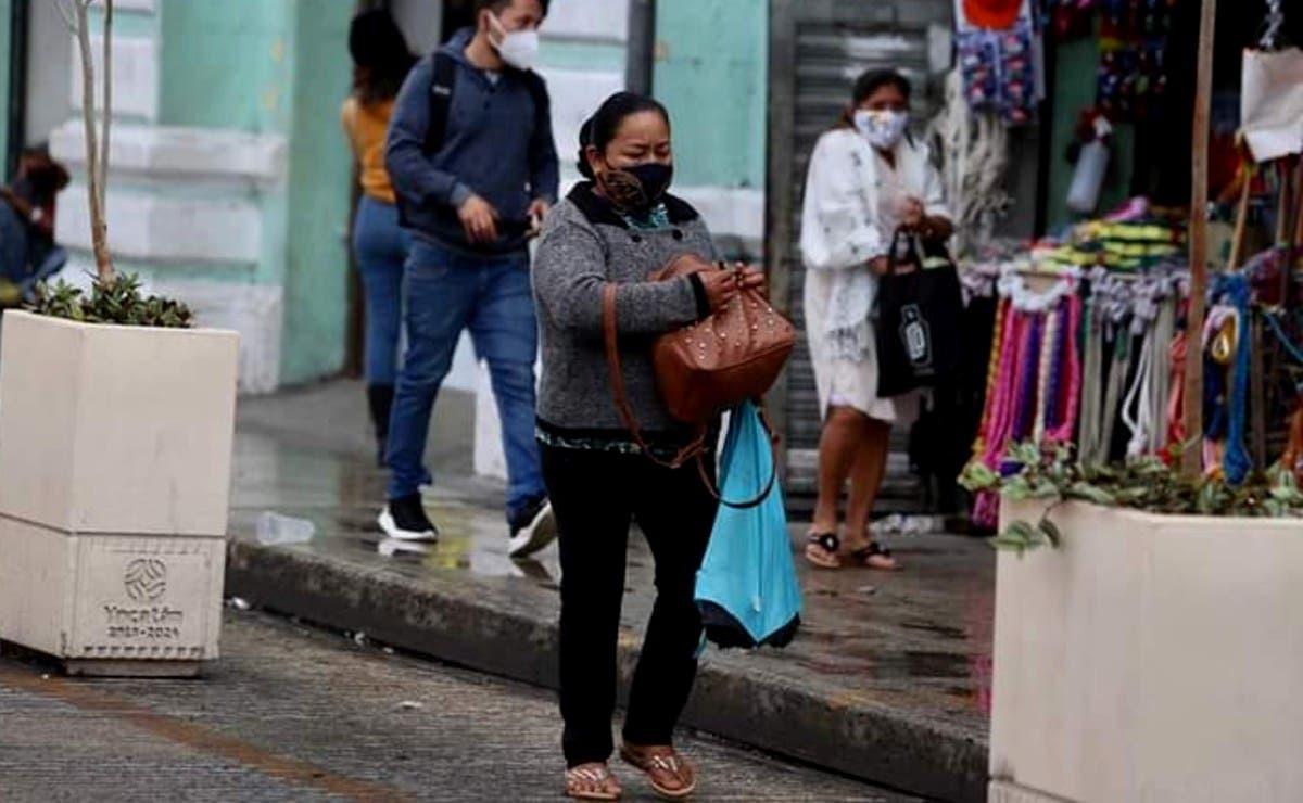 Prevén chubascos a causa del arribo de dos frentes fríos en YucatánPrevén chubascos a causa del arribo de dos frentes fríos en Yucatán