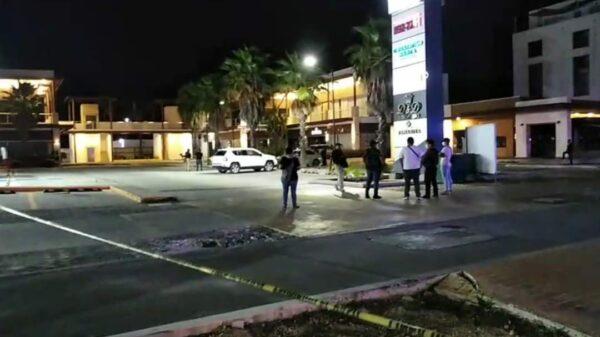 Revelan video de la balacera en el bar Ginza Puerto Cancún.