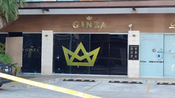 Fallece una de las víctimas de la balacera en el bar Ginza de Cancún.