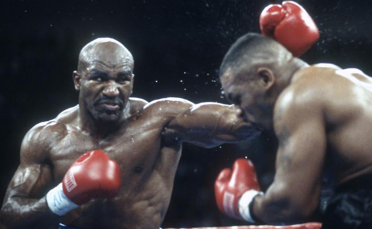 Video: Reta Holyfield a Tyson, habrá finalmente trilogía de la mordida?