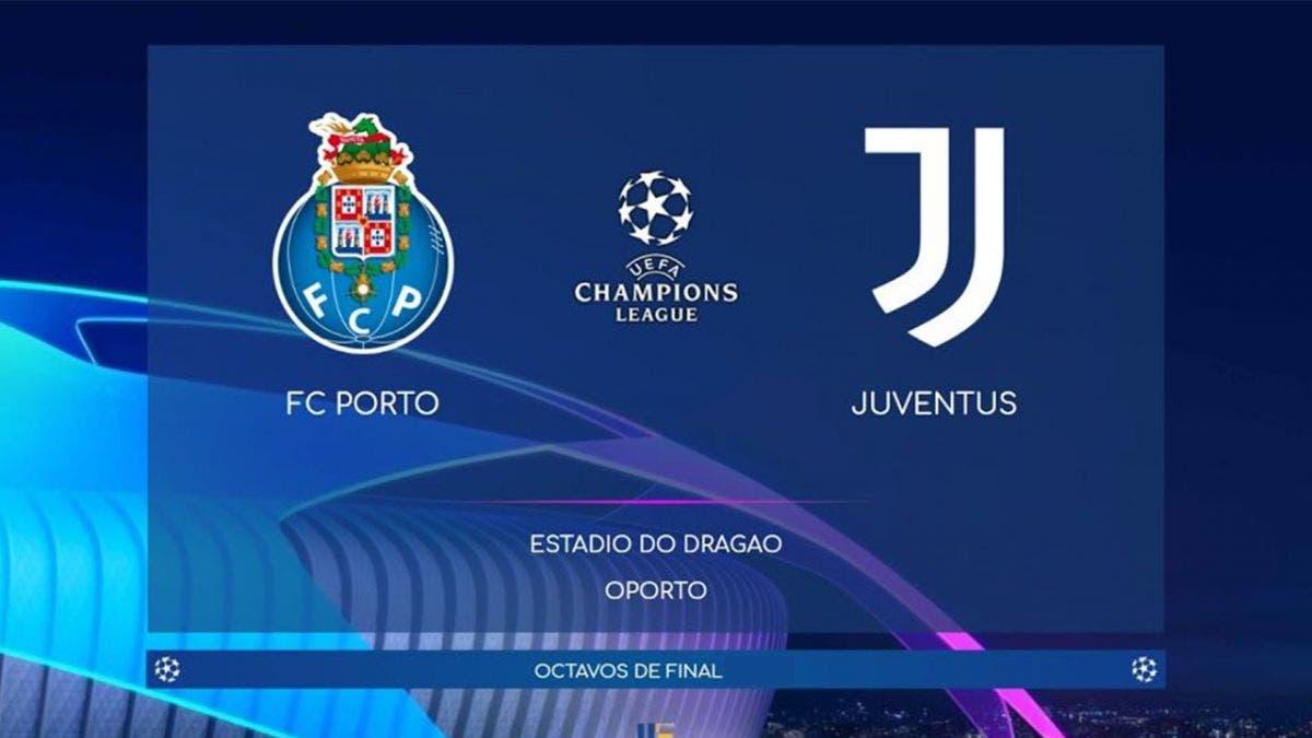 Champions: Porto vs Juventus Vuelta EN VIVO