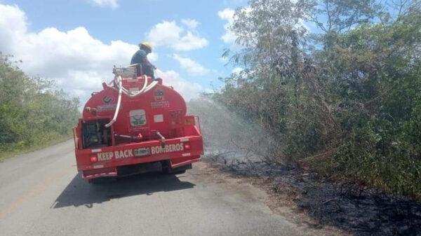 Conatos de incendios frecuentes en Kantunilkín