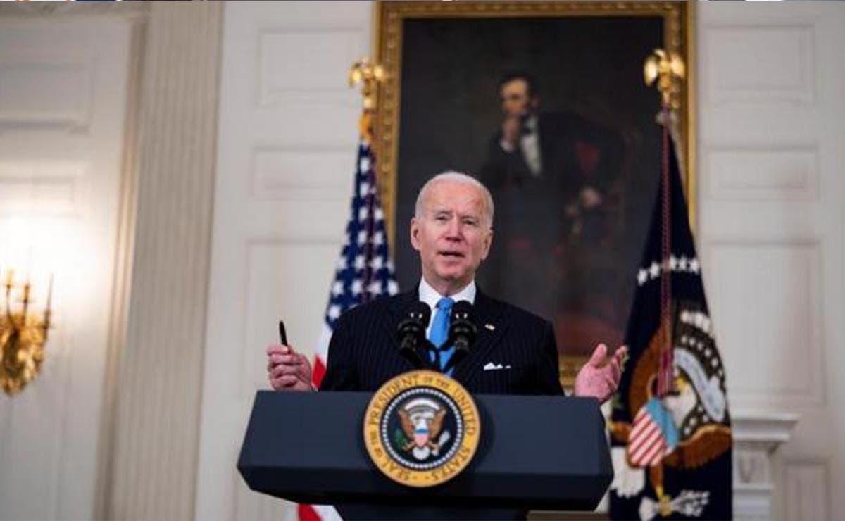 """Eliminar restricciones es un """"pensamiento neandertal"""": Biden"""