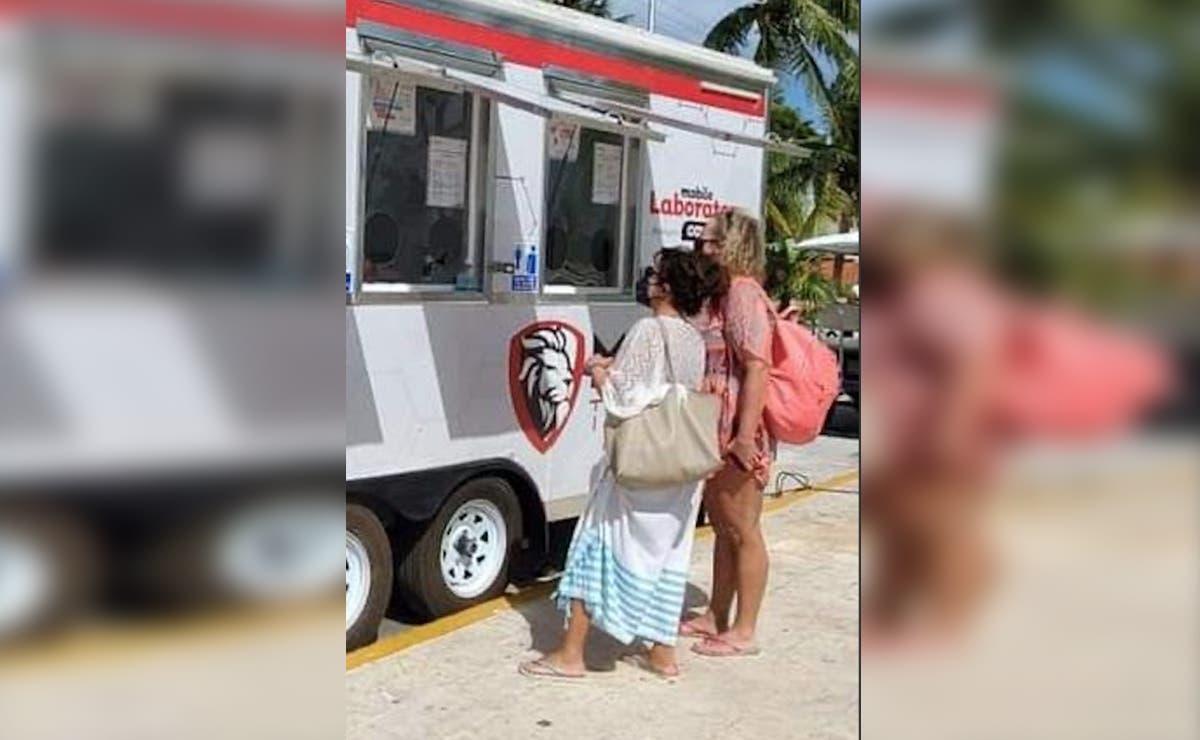 Llegan a Isla Mujeres laboratorios móviles para pruebas covid