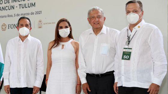 Nombra AMLO a Luis Alegre como representante personal del Tren Maya en Quintana Roo
