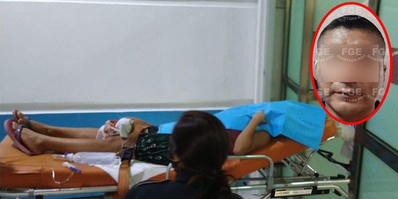 Detenido por hacer abortar a golpes a una mujer en Cancún.