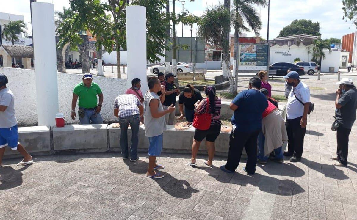 Siguen sin cobrar empleados municipales de Felipe Carrillo Puerto