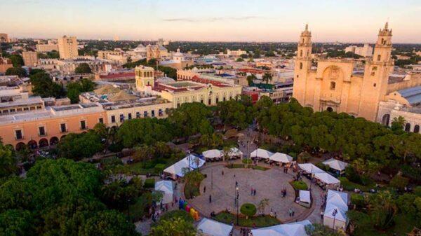 Reportan afluencia de turistas nacionales e internacionales a Mérida