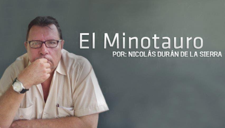 El Minotauro. Columna de Nicolás Durán de la Sierra para Turquesa News.