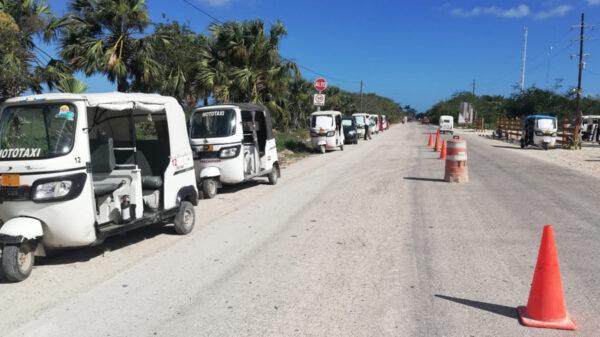Mototaxis de Chiquilá serán supervisados por Inmovqroo