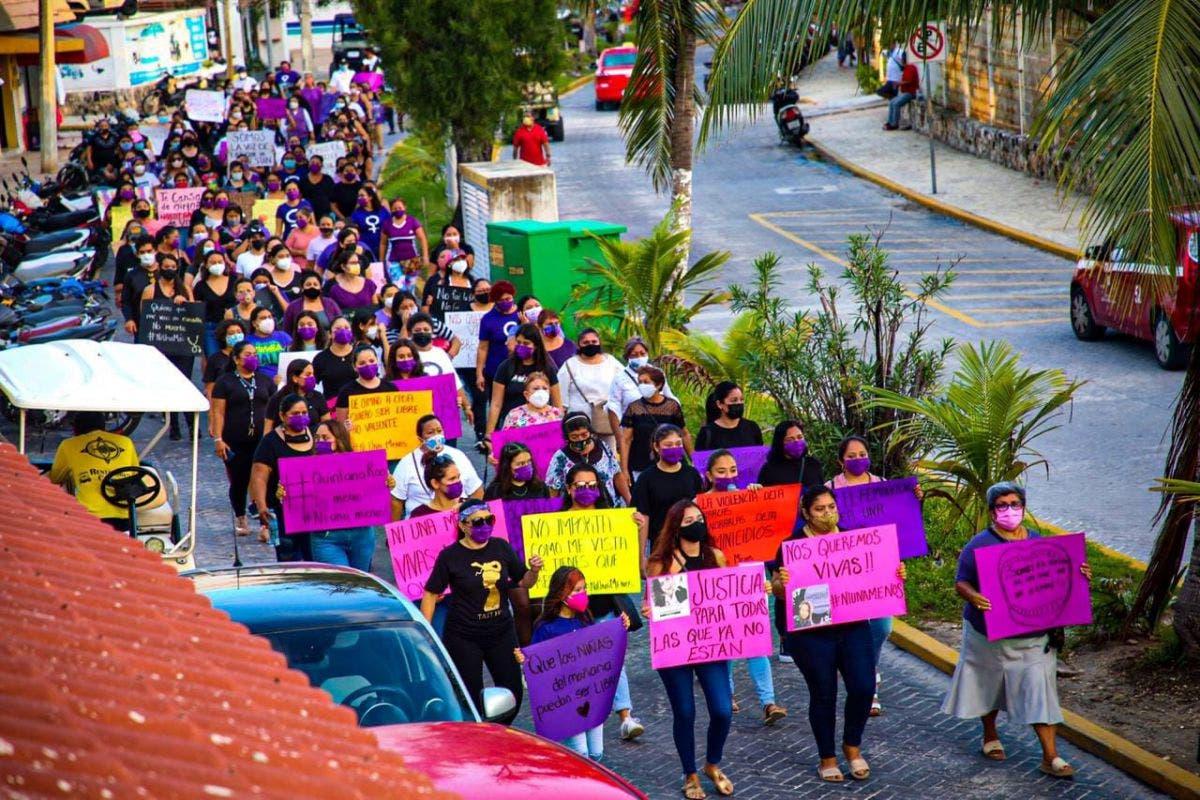 Habrá total respeto a los eventos para conmemorar el Día Internacional de la Mujer.