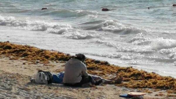 Joven nadadora muere ahogada en Playa del Carmen.
