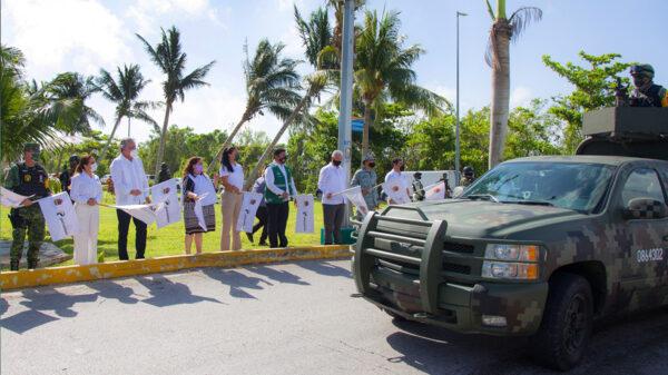 Arranca operativo Semana Santa 2021 en Cancún