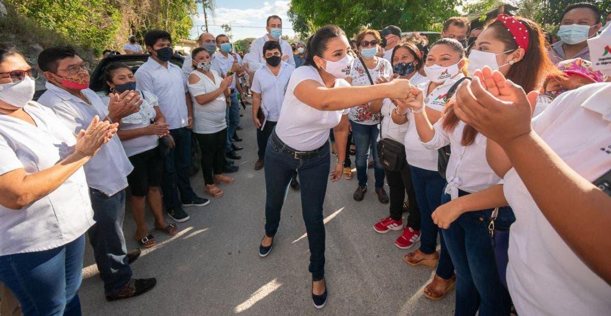 Paoly Perera buscar la Presidencia de FCP por la coalición 'Va por Quintana Roo'.