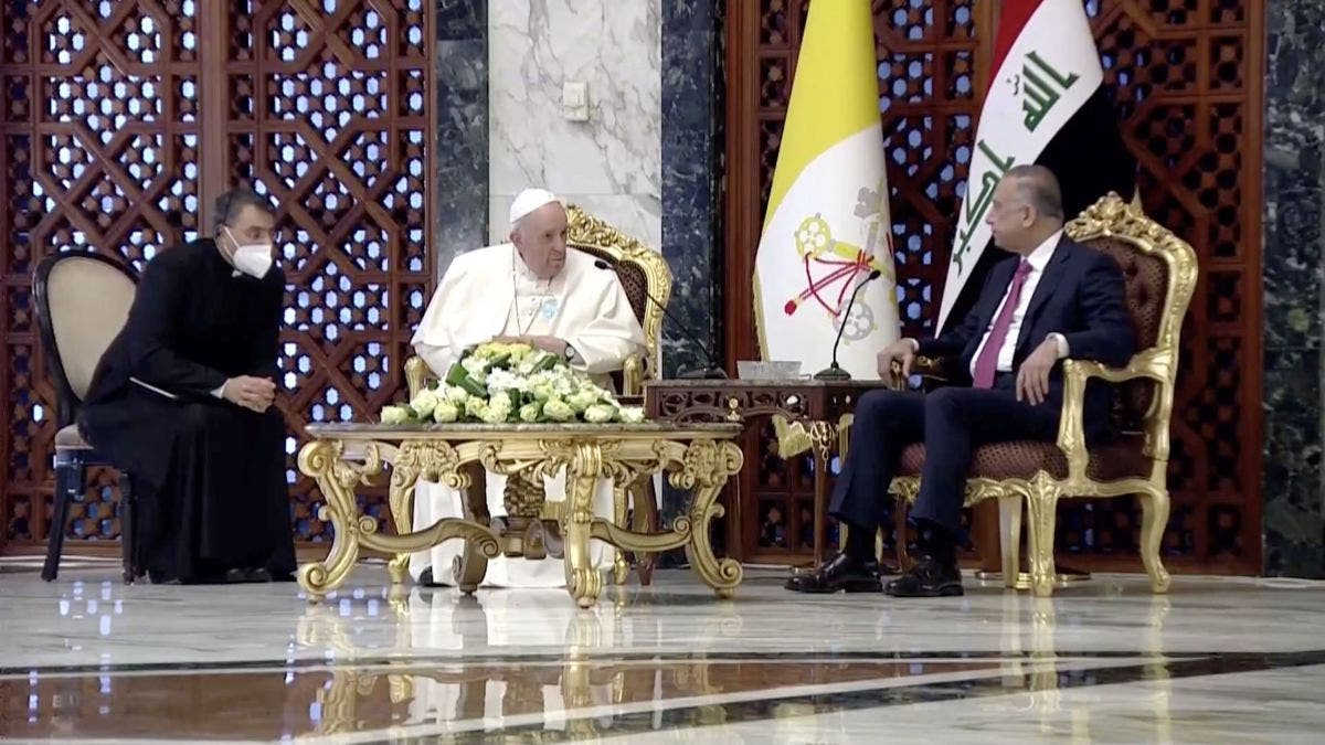Histórica visita del Papa Francisco a Irak; calificada de alto riesgo