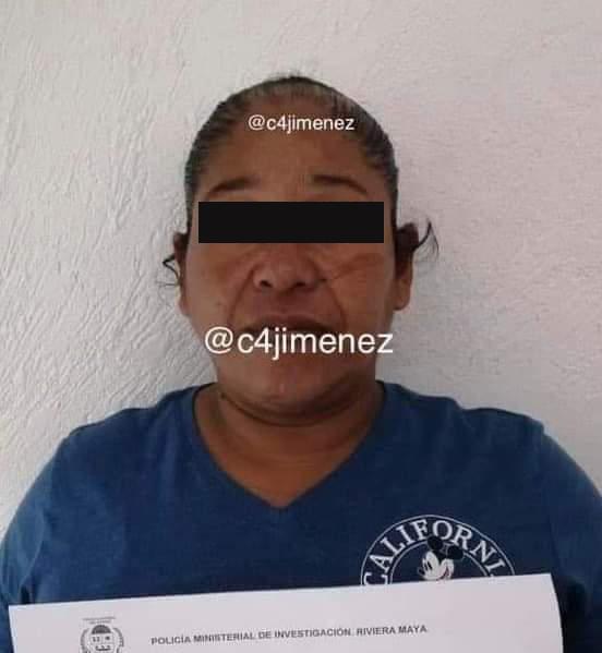 Presentan a policías de Tulum acusados del homicidiode Victoria
