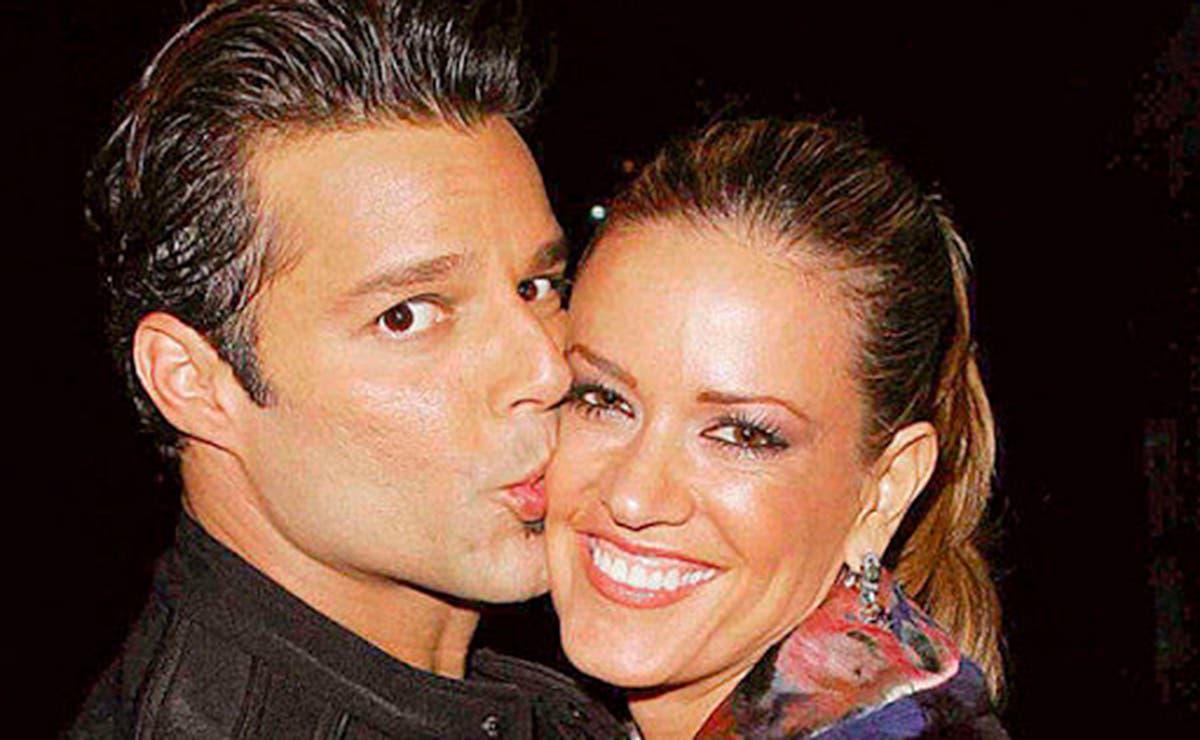 Presume Rebecca de Alba foto con Ricky Martin
