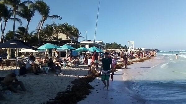 Instalarán filtros covid-19 en playas de Playa del Carmen