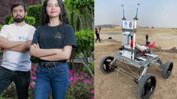 Estudiantes mexicanos desarrollan robot para competir y explorar Marte