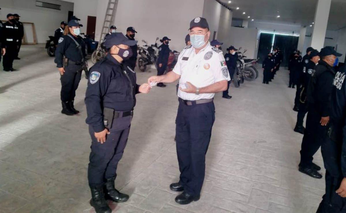 Gobierno de Puerto Morelos impulsa la capacitación de los elementos de seguridad pública