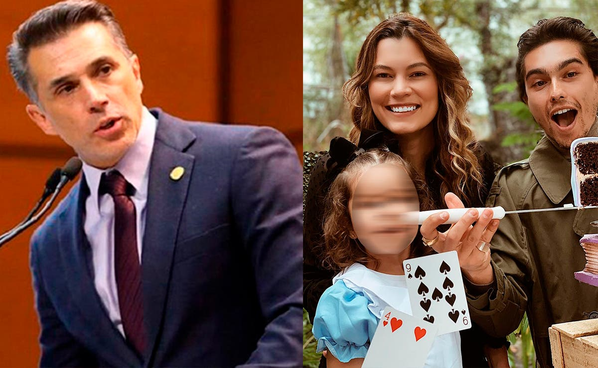 Sergio Mayer no planea denunciar Natália Subtil por 'abusar de su hijo'