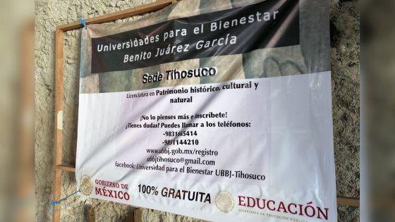 Abre inscripciones la Universidad para el Bienestar en Tihosuco