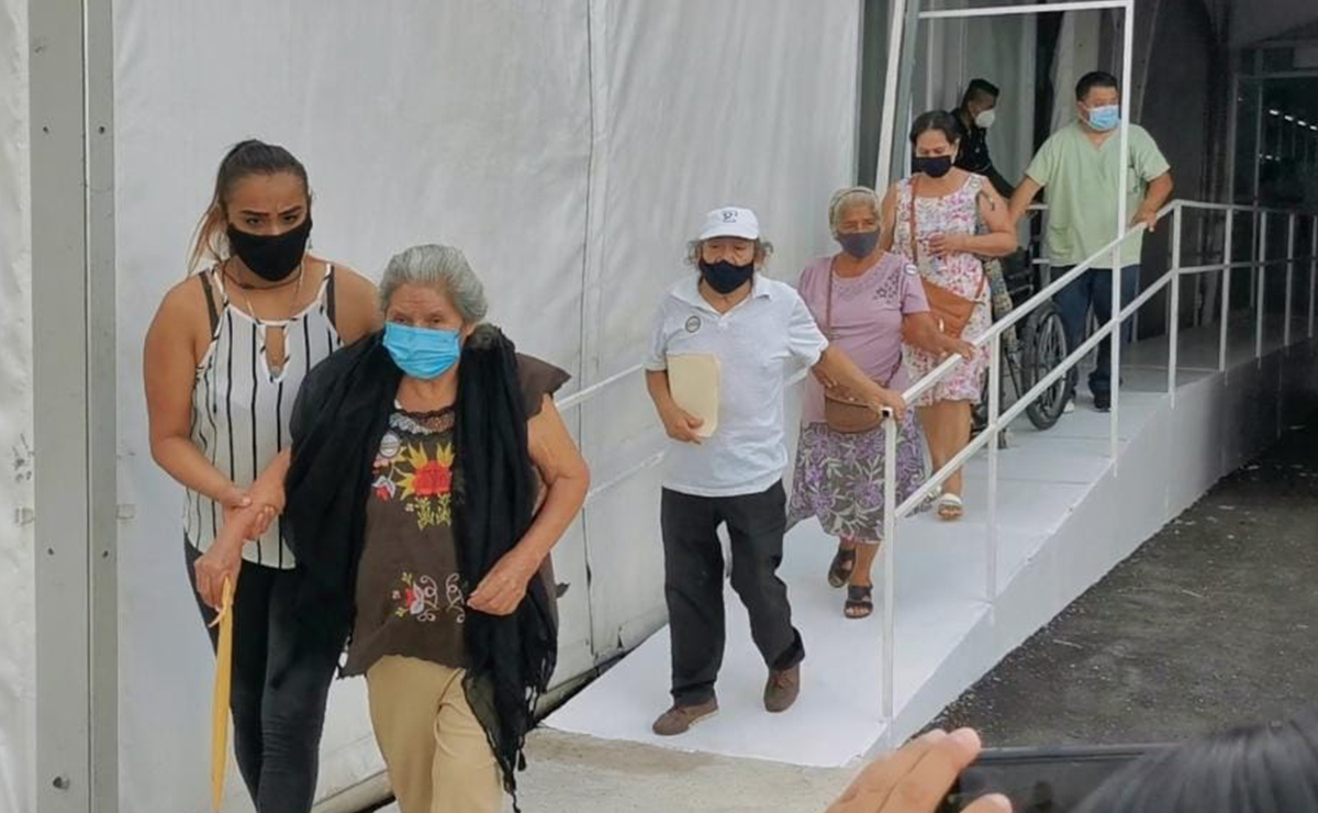 Se agotaron las vacunas contra covid-19 en Cancún