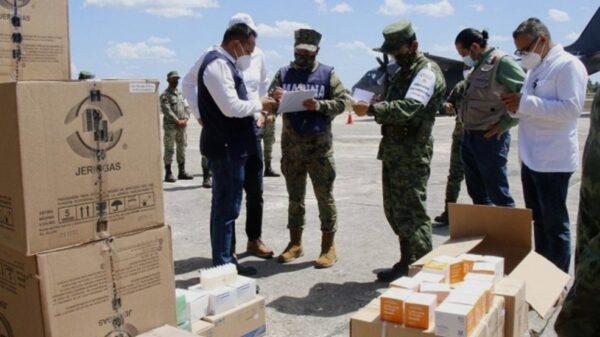 Llegan 28 mil 440 dosis de vacunas contra Covid a Yucatán