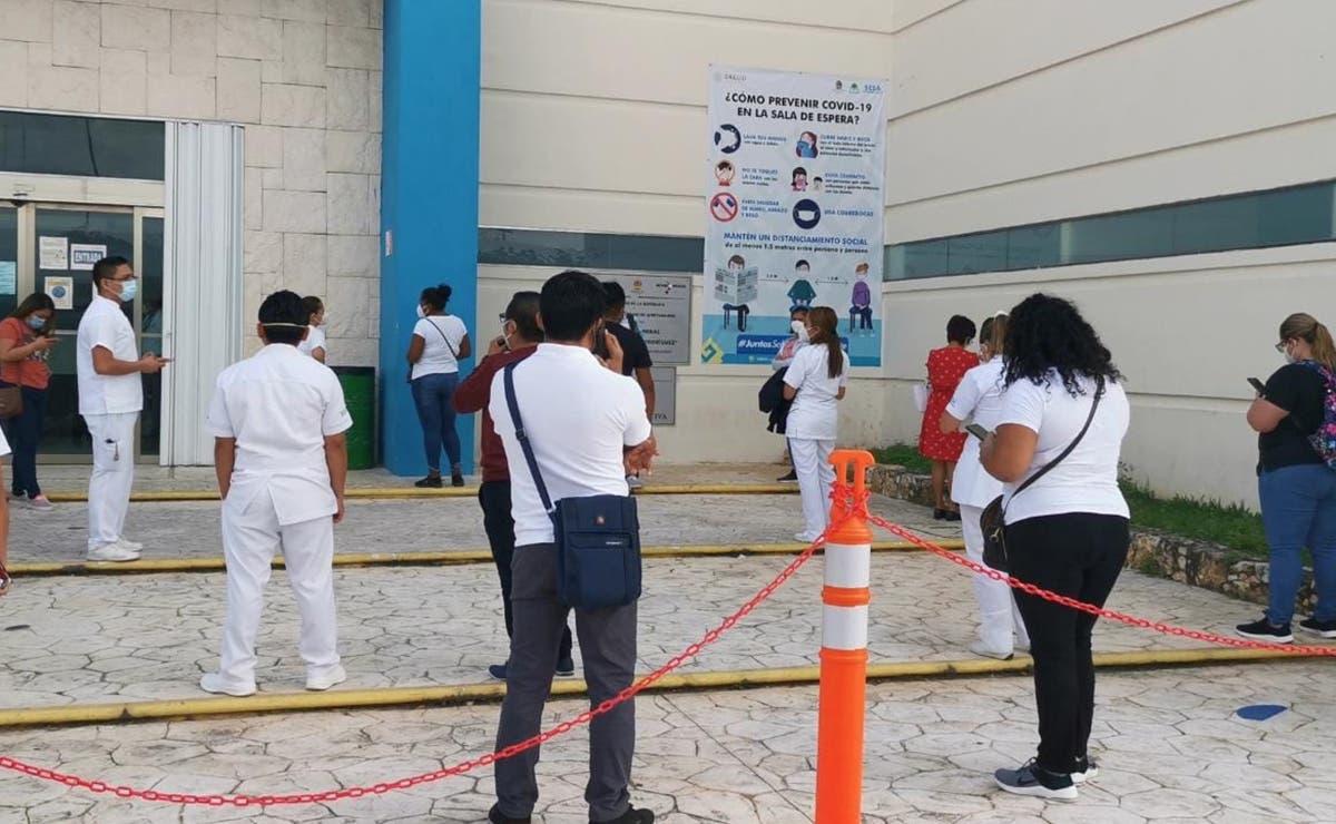 Faltan 3 mil 237 trabajadores de la Salud por vacunar contra el covid-19