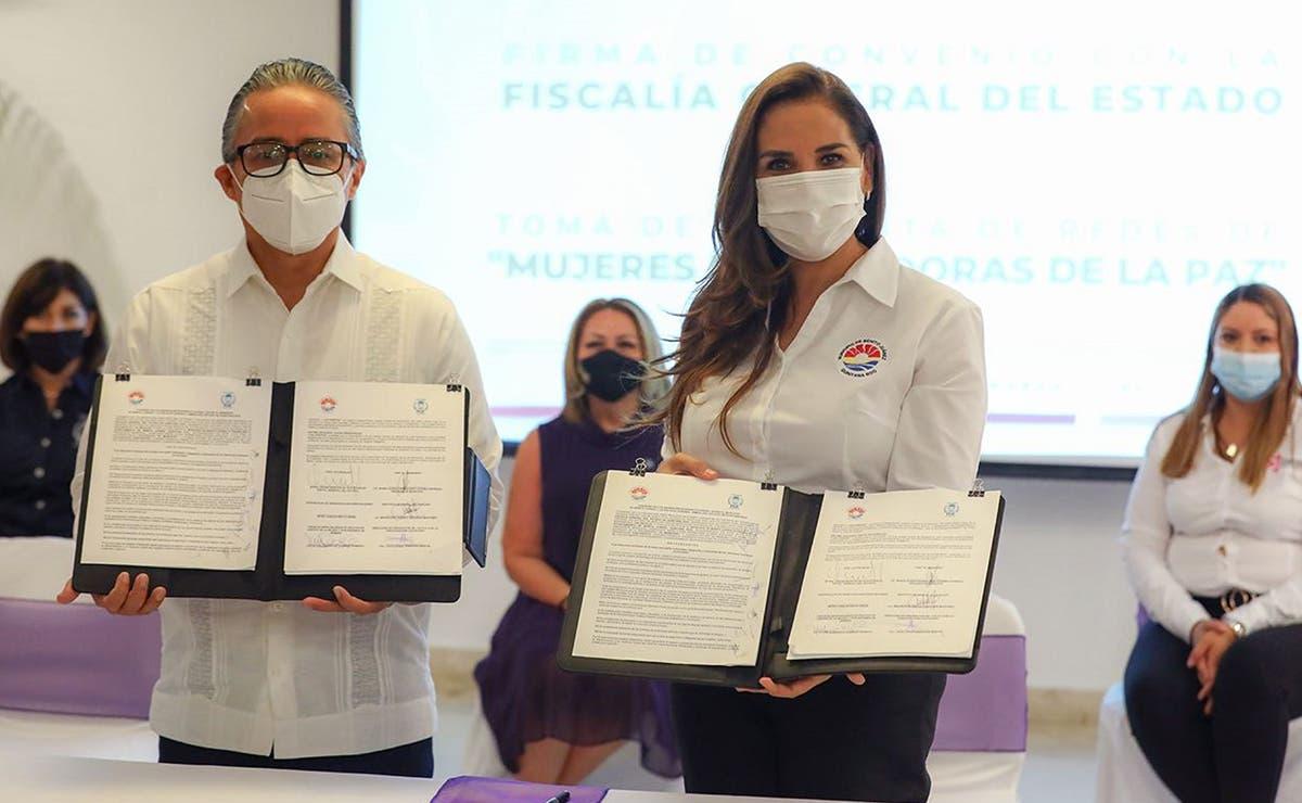 Trabajo interinstitucional en Cancún para poner un alto a la violencia contra la mujer