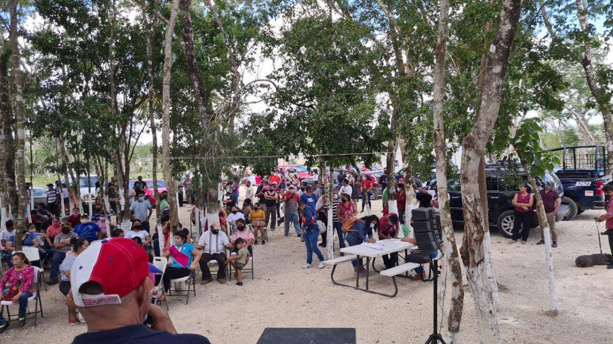 Conforman 20 comunidades la 'Nueva Playa del Carmen'.