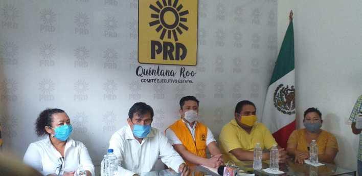 Descartan ruptura PRD-PAN por postular a 'Chucho' Pool para Benito Juárez.