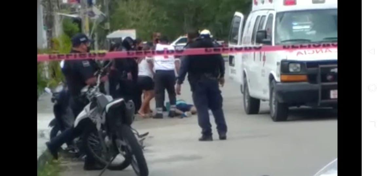 Video: En Cozumel intentan ejecutar al narcomenudista 'El Canter'.