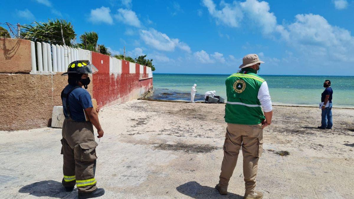 Recala en playa del Niño el cuerpo de un joven ahogado en Punta Cancún.