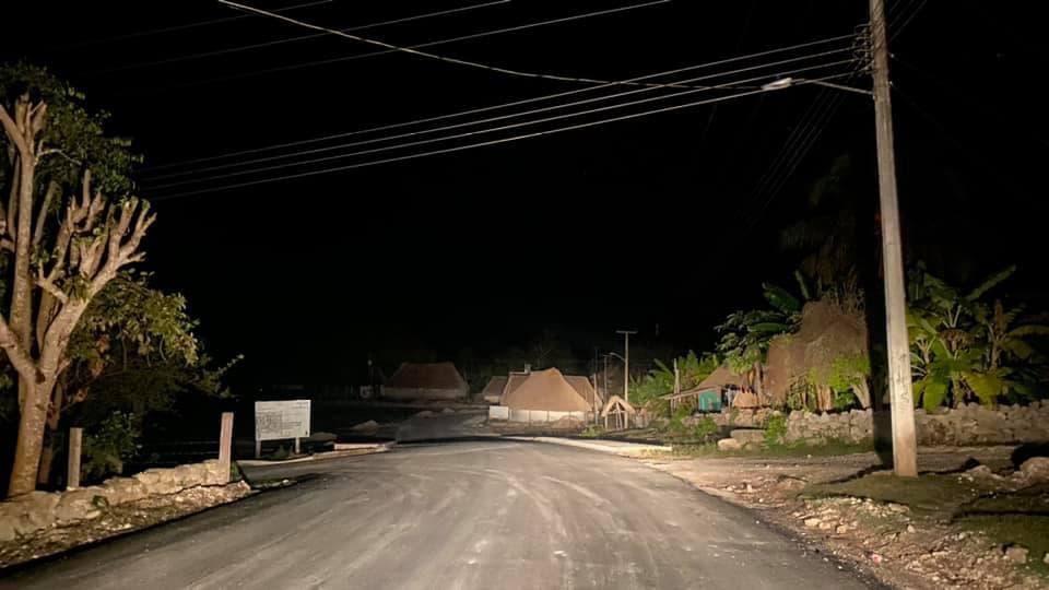 Comunidades mayas de Felipe Carrillo Puerto sufren constantes apagones.