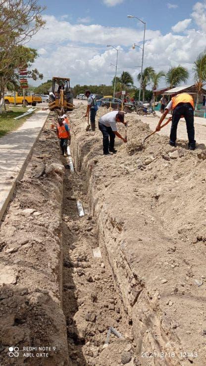 CAPA da mantenimiento a equipos de descarga en Holbox y Chiquilá.