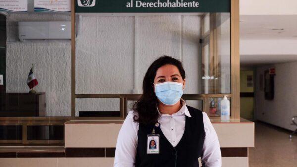 Las mujeres tenemos el don del servicio: Angélica Sandoval; empatía, comprensión y calidez de la TAOD del MSS Quintana Roo.