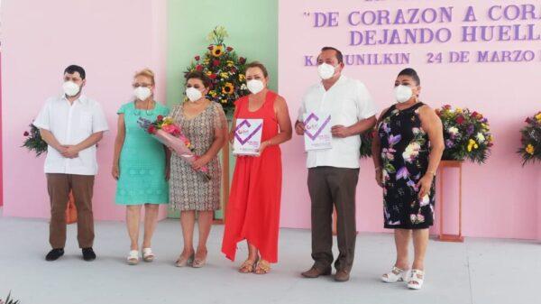 De corazón a corazón se apoya a las familias de Lázaro Cárdenas: Marisol Escalante.