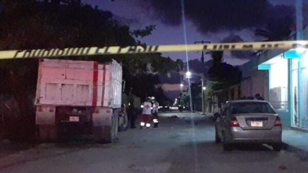 Madrugaron sicarios a un carnicero en la Región 236 de Cancún.